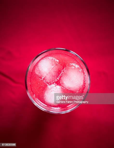 A glass of watermelon juice