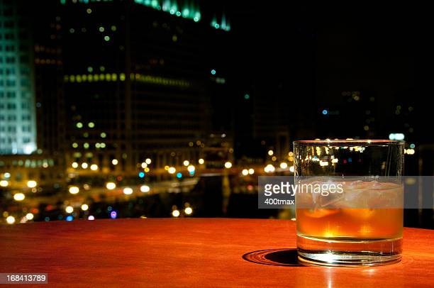 glass of whisky or rum - cirrhosis stock pictures, royalty-free photos & images