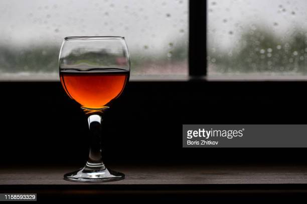 a glass of wine - liqueur stock pictures, royalty-free photos & images