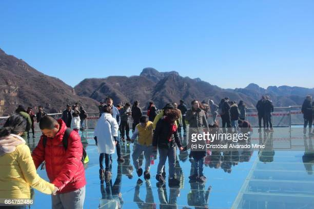 Glass Platform In Tianyun Mountain Scenic Spot