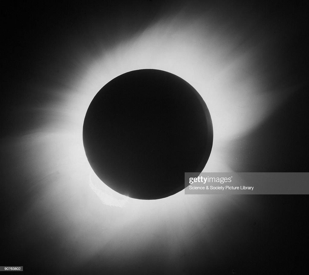 Total solar eclipse, 29 May 1919. : Photo d'actualité