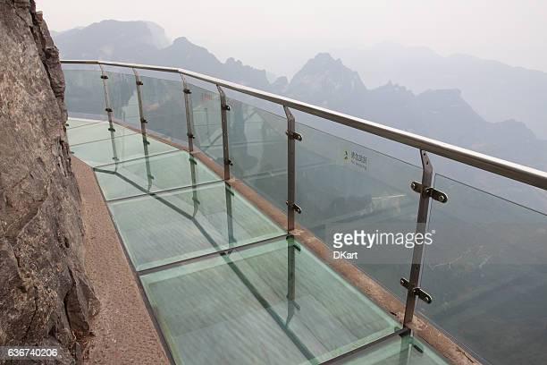 Glass skywalk
