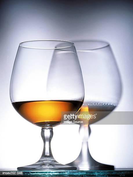 Glasses of Cognac