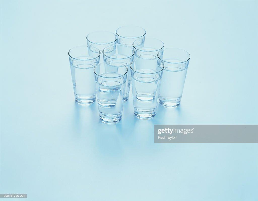 Glasses of water : ストックフォト