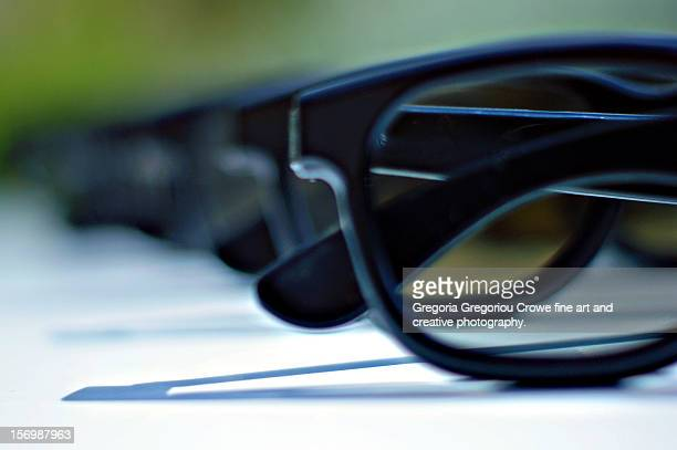 3d glasses - gregoria gregoriou crowe fine art and creative photography stock photos and pictures