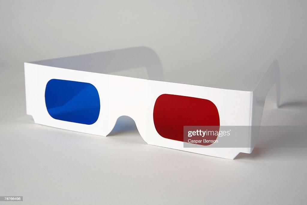 3-D glasses : Stock Photo
