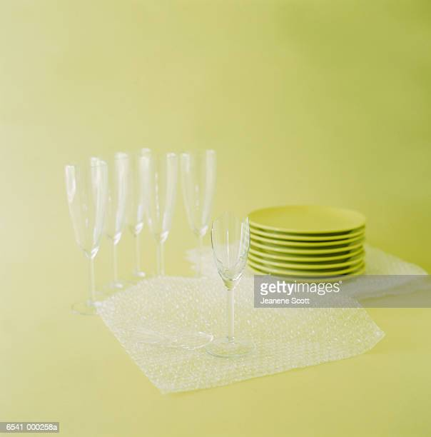 Glasses, Plates and Packaging