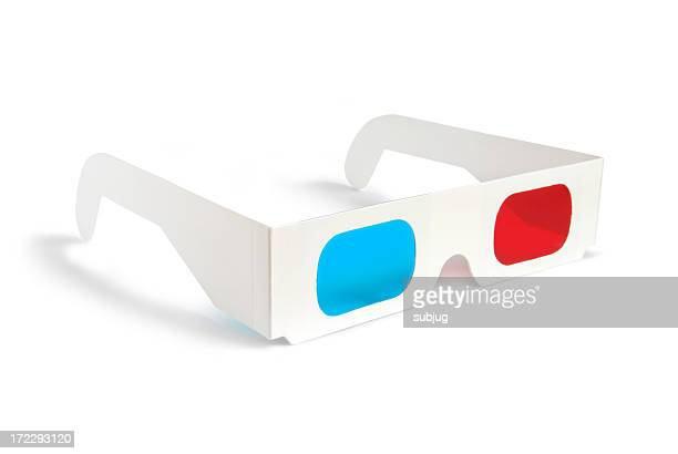3D glasses - side view