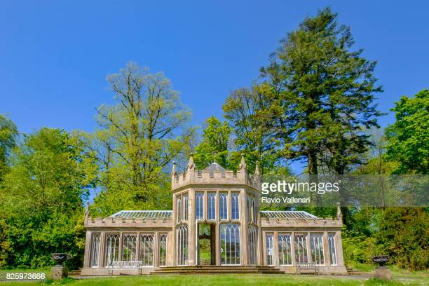glasshouses at the culzean castle, scotland - social history stock pictures, royalty-free photos & images