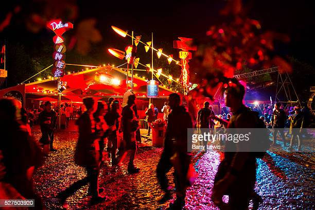 Glastonbury Festival 2014. Shangri-La is the after-hours epicentre of Glastonbury Festival, a largely indescribable, ephemeral and interactive world...
