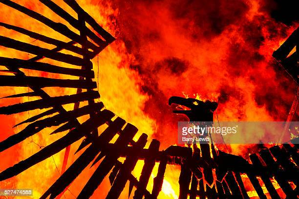 Glastonbury Festival 2015 The festival opens with fire rituals and fireworks launched from near the stone circle a huge 30ft phoenix rises from the...