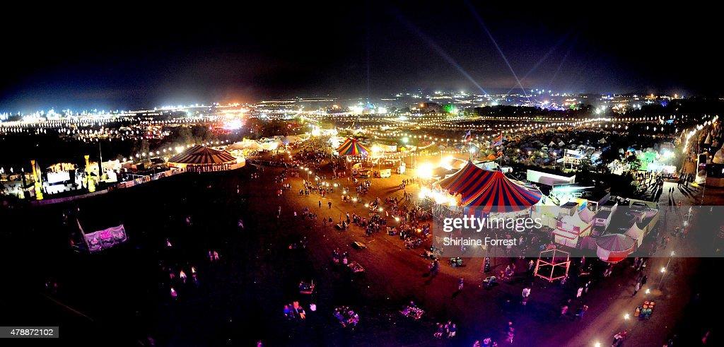 Glastonbury Festival 2015 - Atmosphere : News Photo