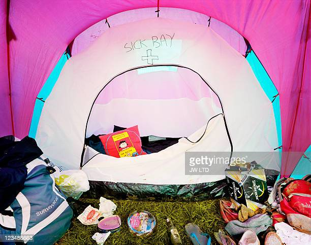 Glastonbury Festival tents