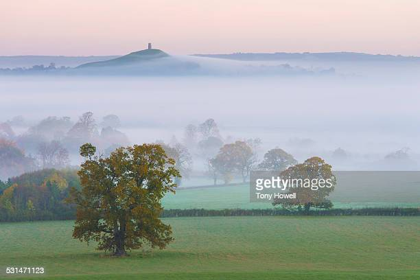 Glastonbury Tor, Mist