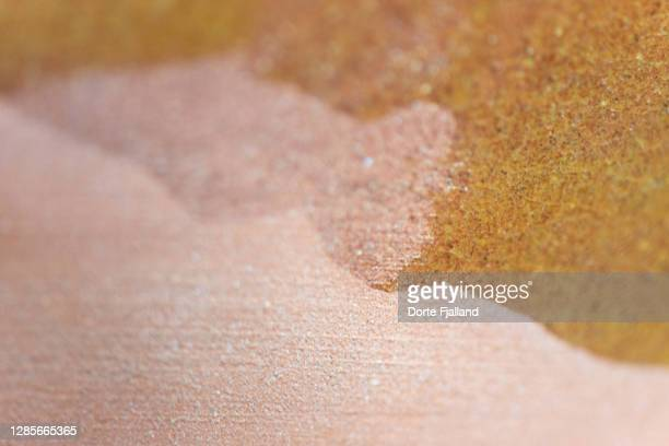glazed and raw ceramic close-up - dorte fjalland fotografías e imágenes de stock