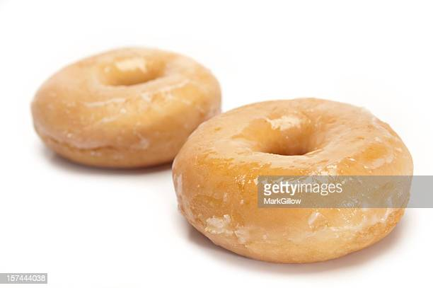 glazed doughnuts - glazed food stock pictures, royalty-free photos & images