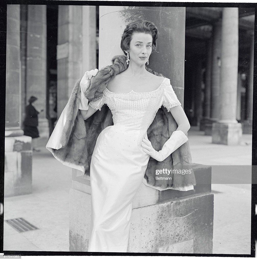 short white satin dress with rhinestones