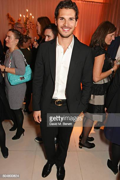 Gleb Savchenko attend the opening night reception of the English National Ballet's Le Corsaire hosted by St Martins Lane on January 13 2016 in London...