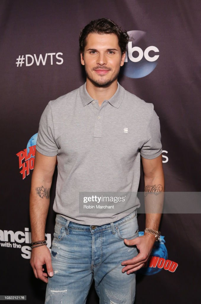 Gleb Savchenko attends Dancing With The Stars Season 27 Cast Reveal Red Carpet At Planet Hollywood Times Square at Planet Hollywood Times Square on September 12, 2018 in New York City.