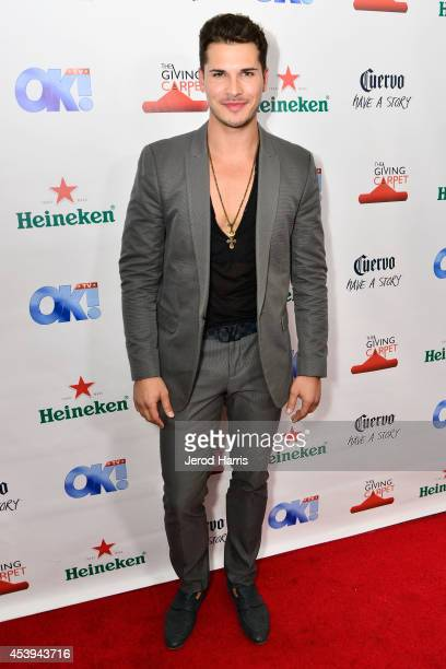 Gleb Savchenko attends OK TV Awards Party at Sofitel Hotel on August 21 2014 in Los Angeles California