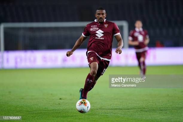 Gleison Bremer of Torino FC in action during the Serie A match between Torino Fc and As Roma As Roma wins 32 over Torino Fc