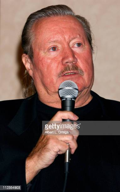 """Glen A. Larson during 2003 Galacticon Celebrating the 25th Anniversary of """"Battlestar Galactica"""" - Day One at The Universal Sheraton Hotel in..."""