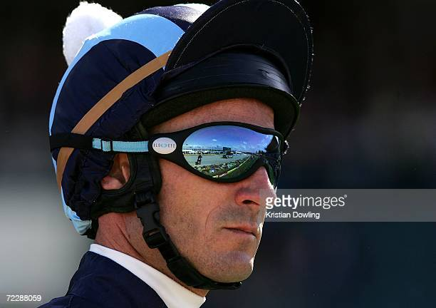 Glen Boss looks on before the 2006 Tattersall's WS Cox Plate race meeting at Moonee Valley Racing Club on October 28 2006 in Melbourne Australia