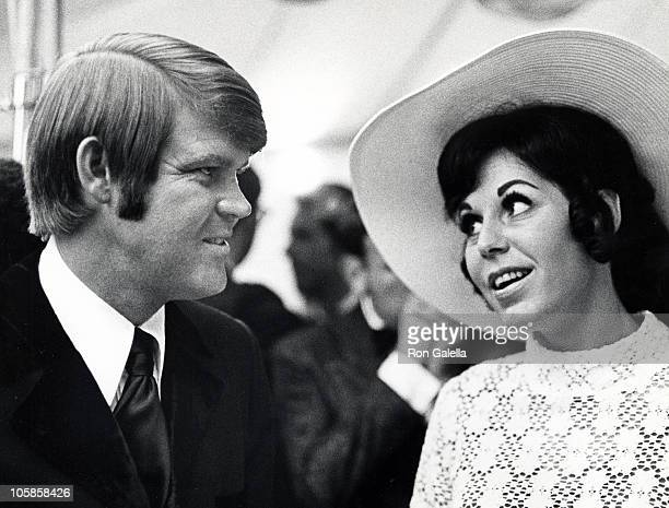 Glen Campbell and Billie Jean Nunley during Honor America Day at Washington DC in Washington DC Washington DC United States