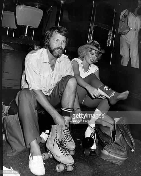 Glen Campbell and Tanya Tucker circa 1980 in New York City