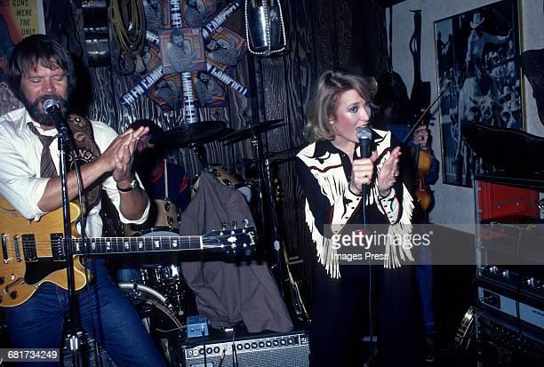 Glen Campbell and Tanya Tucker circa 1981 in New York City