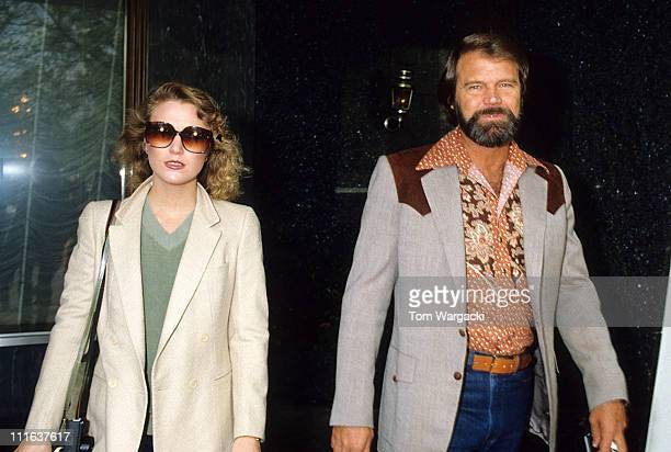 Glen Campbell and Tanya Tucker during Glen Capbell Sighting at Carlton Tower Hotel at Carlton Tower Hotel in London Great Britain