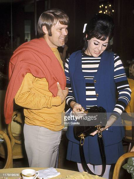 Glen Campbell and wife Billie Jean Nunley during 29th Annual Bing Crosby National ProAm Golf Tournament Clambake Weekend at Pebble Beach in Monterey...