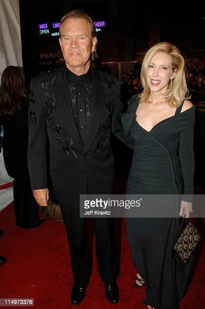 Glen Campbell and wife Kim Campbell during The 39th Annual CMA Awards Red Carpet at Madison Square Garden in New York City New York United States