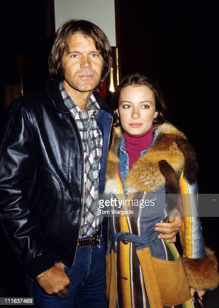Glen Campbell and wife Sarah during Glen Campbell Sighting at the Carlton Tower Hotel at Carlton Tower Hotel in London, Great Britain.
