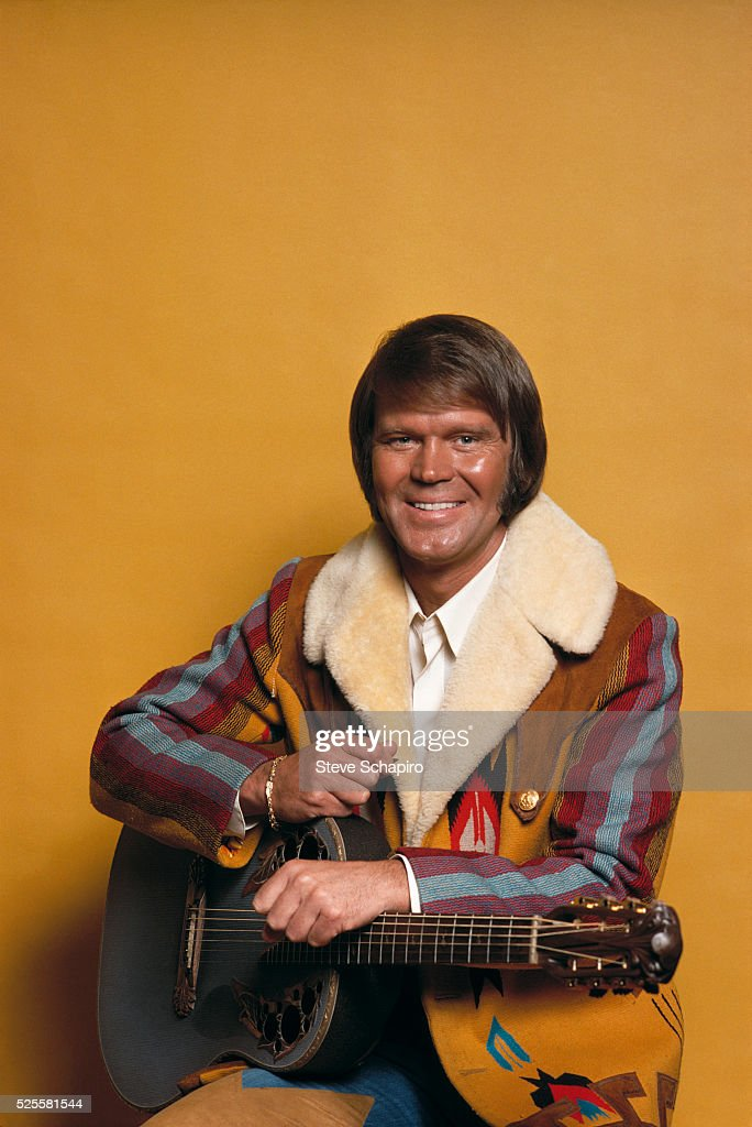 Glen Campbell with Guitar