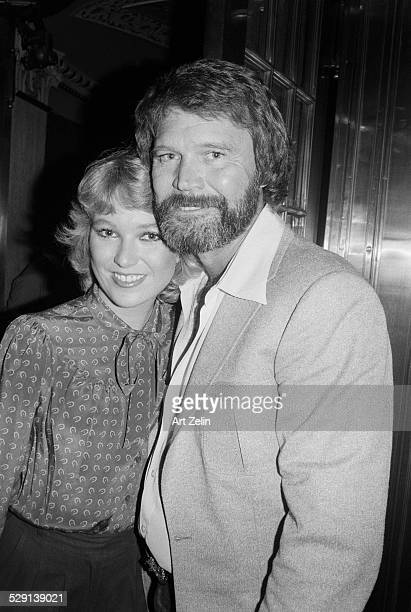 Glen Campbell with Tanya Tucker circa 1970 New York