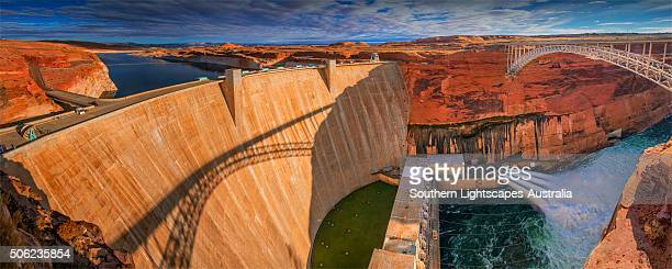 Glen Canyon dam, Arizona, United States of America.