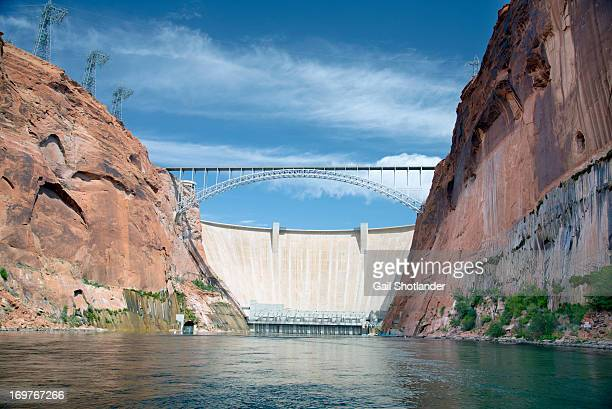 CONTENT] Glen Canyon Dam is a concrete arch dam on the Colorado River in northern Arizona in the United States near the town of Page The dam was...
