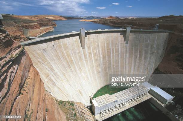 Glen Canyon Dam Lake Powell Utah United States of America