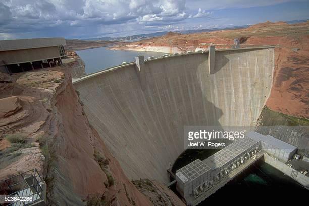 Glen Canyon dam on Colorado River