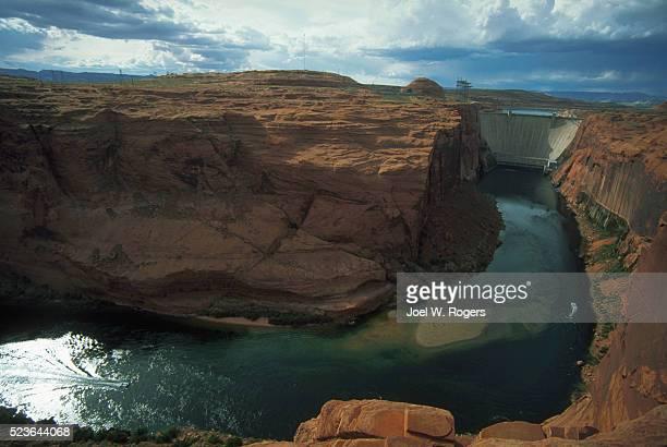 Glen Canyon Dam on the Colorado River