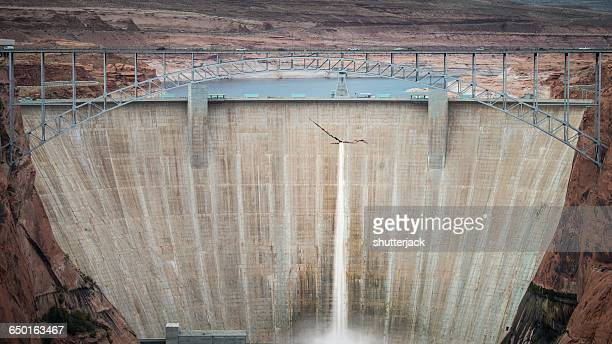 Glen Canyon Dam, Page, Arizona, America, USA