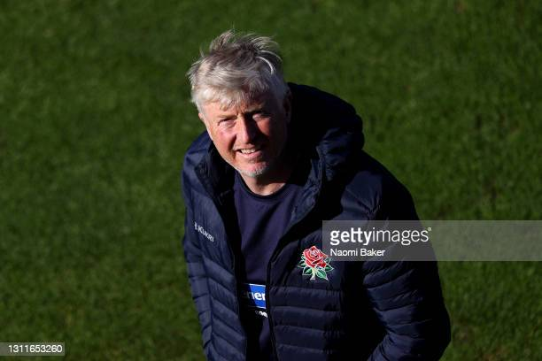 Glen Chapple, Head Coach of Lancashire looks on during the LV= Insurance County Championship match between Sussex and Lancashire at Emirates Old...