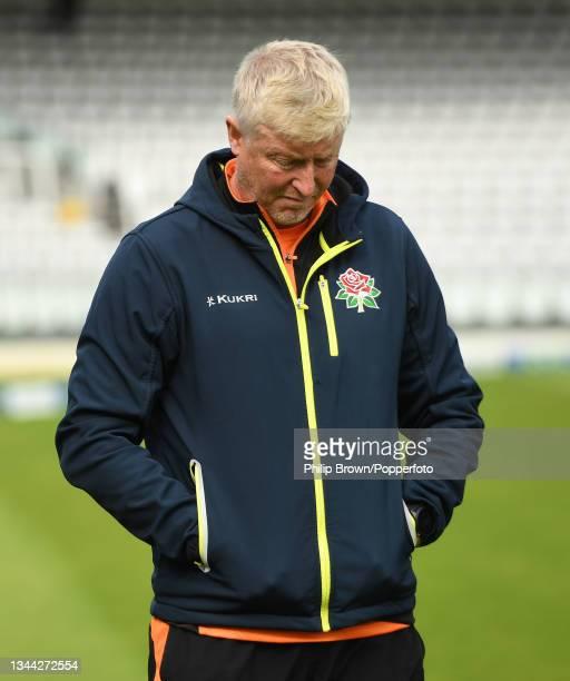 Glen Chapple of Lancashire looks down after Warwickshire won the Bob Willis Trophy Final between Warwickshire and Lancashire at Lord's Cricket Ground...