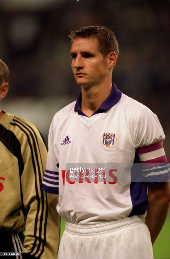 Soccer - UEFA Champions League - Group A - Anderlecht v Roma : News Photo