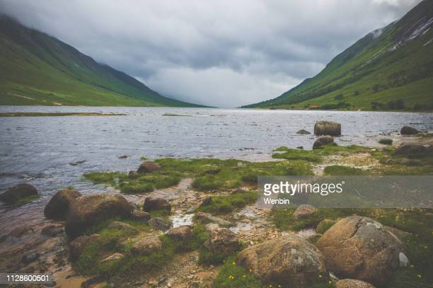 glen etive - strathclyde stock pictures, royalty-free photos & images