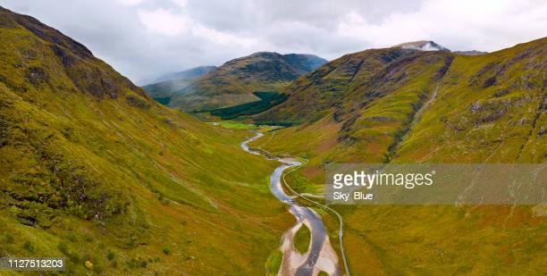 グレン etive、スコットランドのハイランド地方 - グレンコー ストックフォトと画像