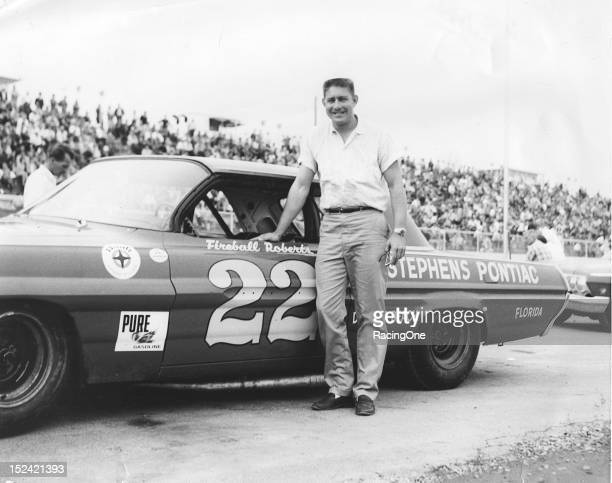 "Glen ""Fireball"" Roberts of Daytona Beach FL ran just 19 of the 53 NASCAR Cup races during the year in Pontiacs fielded by car owners Smokey Yunick..."