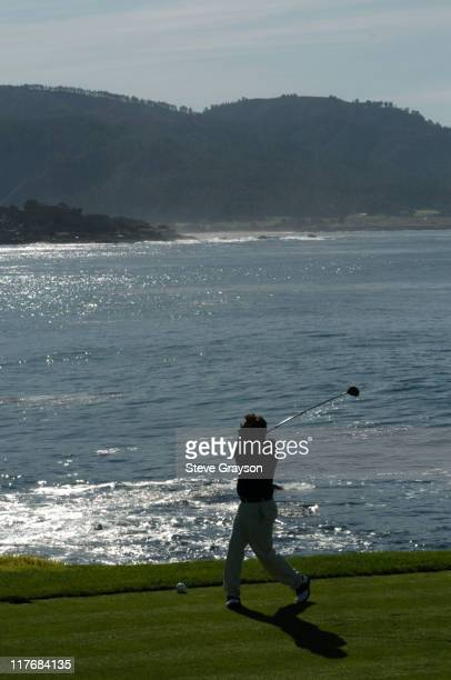 Glen Frey in action during the third round of the PGA Tours 2004 ATT Pebble Beach National ProAm at Pebble Beach Golf Links February 7 2004