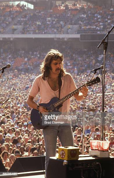 Glen Fry of The Eagles at Day On The Green concert featuring The Eagles at Oakland Coliseum May 28 1977 in Los Angeles California**EXCLUSIVE**